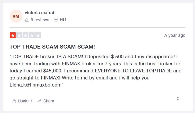 top trade scam scam